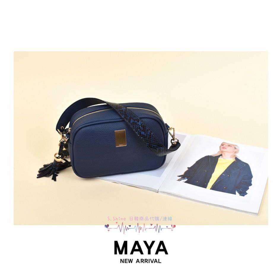 ●現貨●【ROOTY】R430 Maya 流蘇吊飾荔枝紋相機包(附粗背帶) 深粉色現貨 其他色年後開放預購