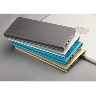 送收納袋 超薄天書 雙USB孔2.1A和1A適用所有手機和平板 大容量20000mah 超薄鋁合金聚合物行動電源 高雄市