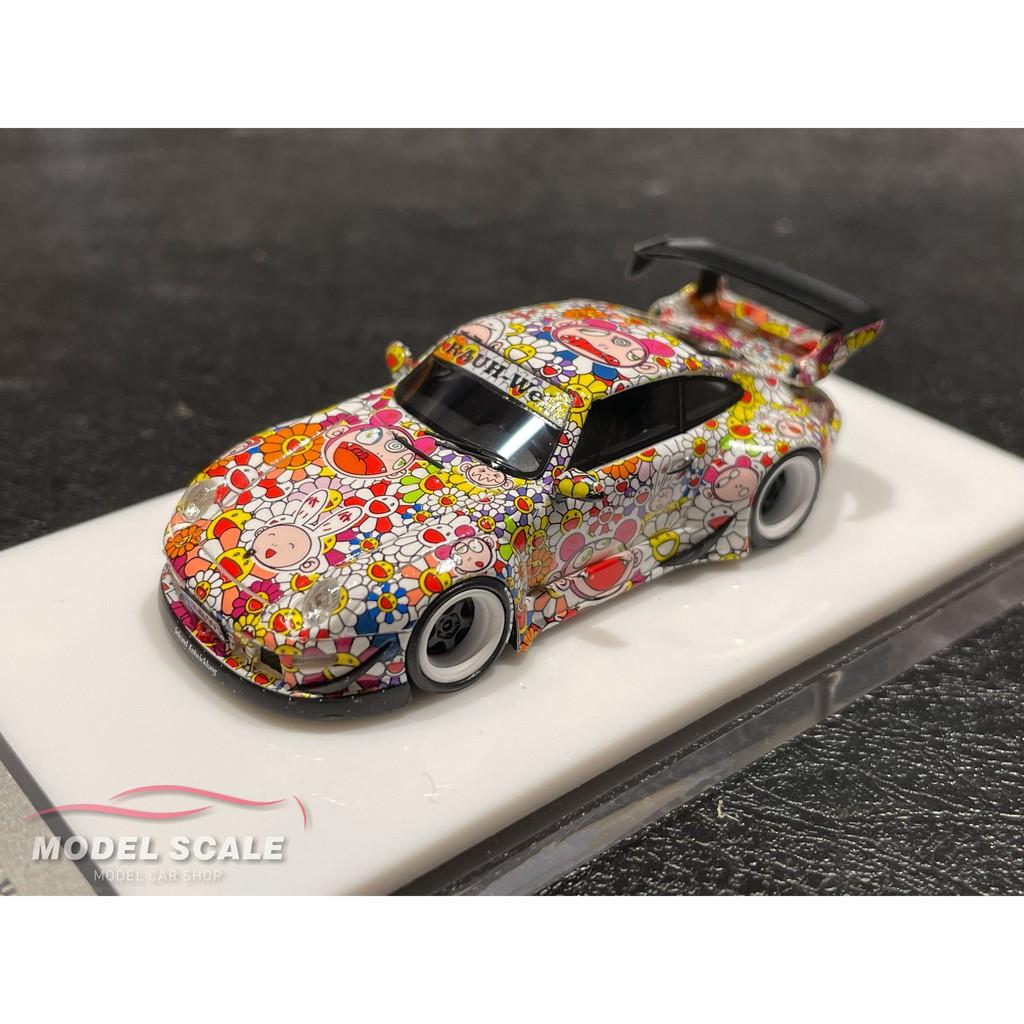 【模例】TP 1/64 Porsche RWB 993 太陽花塗裝