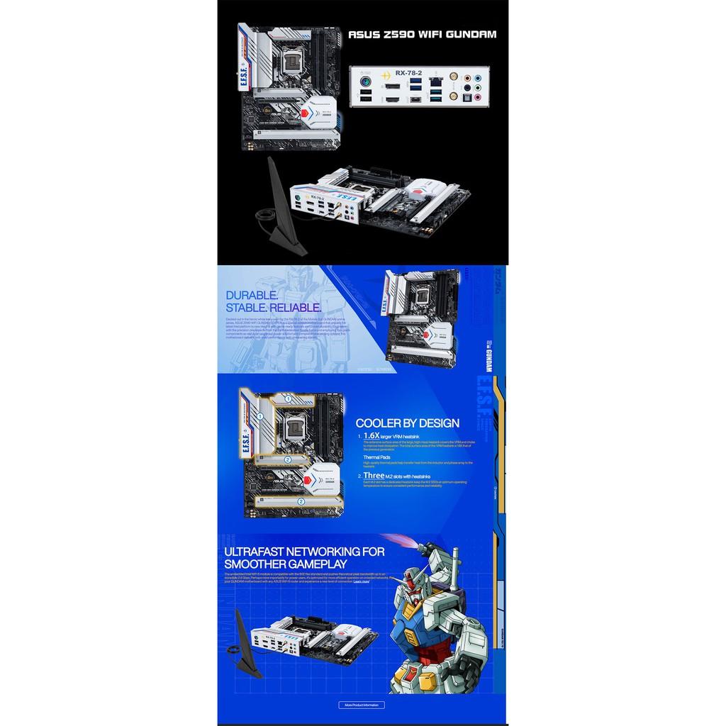 華碩鋼彈組 RTX3080 STRIX-RTX3080 Z590 GUNDAM  HELIOS GX601 850W