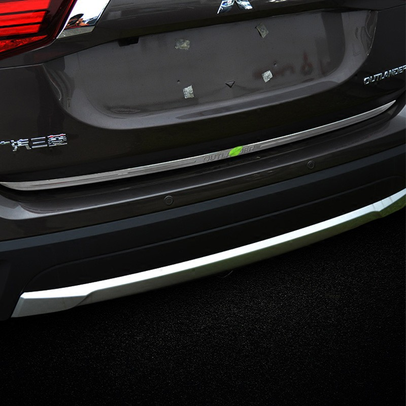Mitsubishi~適用于  Outlander 尾門亮條 13-20款Outlander 改裝配件專用后飾條