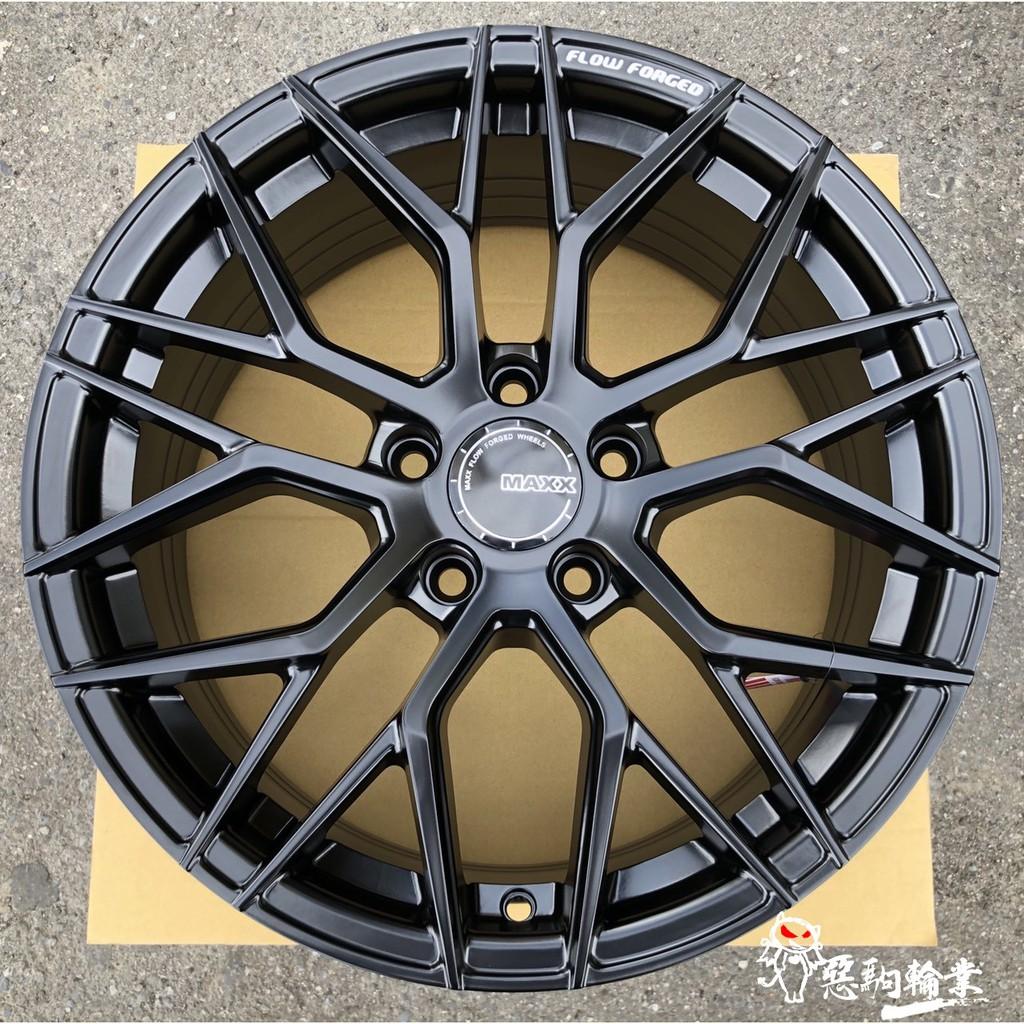 全新 MAXX M11 旋壓鋁圈 17吋 5孔 114.3 100 108 112 黑 另有 18吋 19吋 20吋