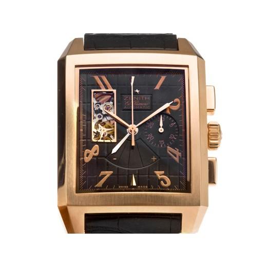Zenith 真力時 Port-Royal Open 系列18K玫瑰金腕錶