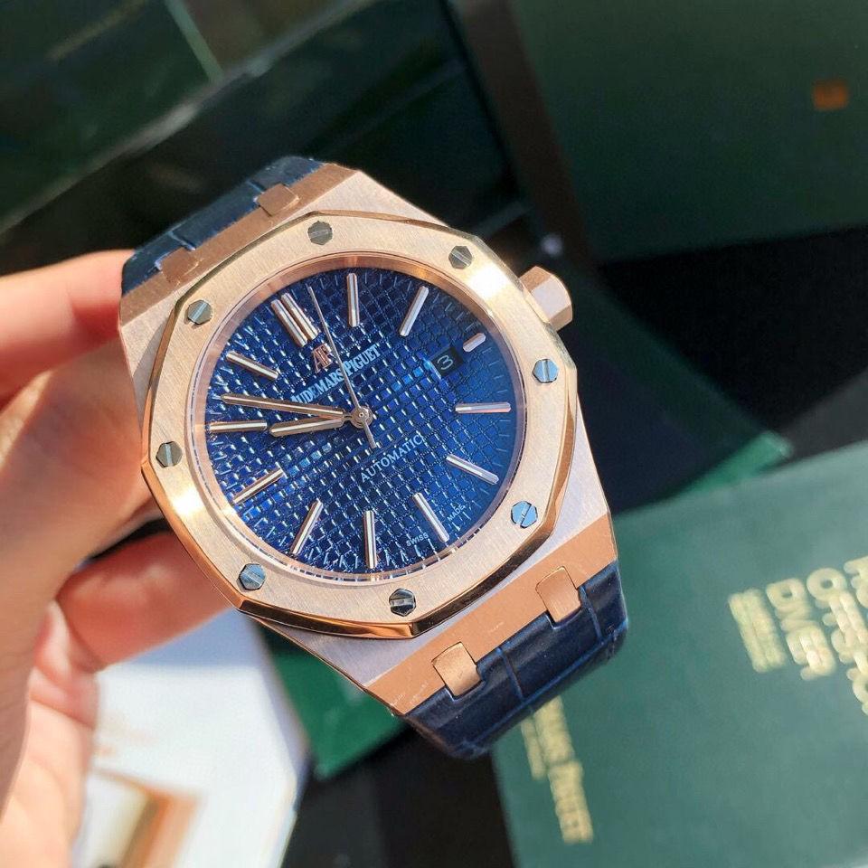 新記 15400ST全自動機械手表 運動風時尚男士手表 強夜光精鋼藍寶石