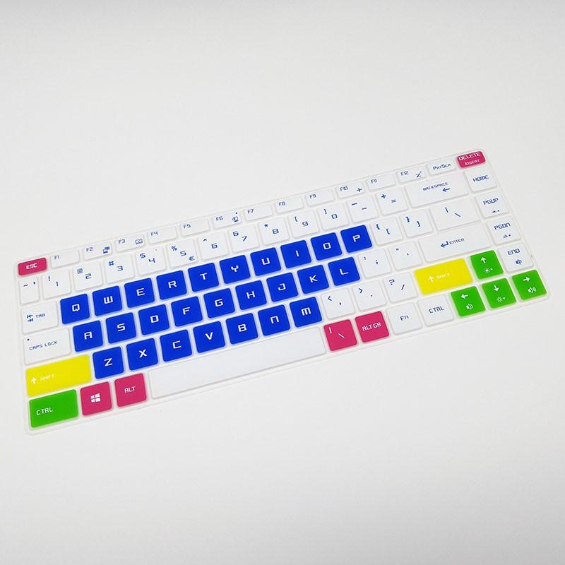 【yps】微星(MSI) GS65筆記本GF63鍵盤保護膜P65電腦貼膜PS42 PS63按鍵防塵套凹凸墊罩透明彩色卡通