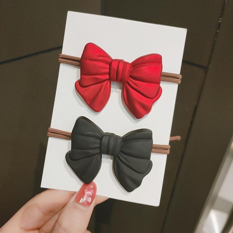 【F3S1524】單個價蝴蝶結髮圈頭繩爆款髮飾扎頭髮橡皮筋女小皮套高彈力耐用