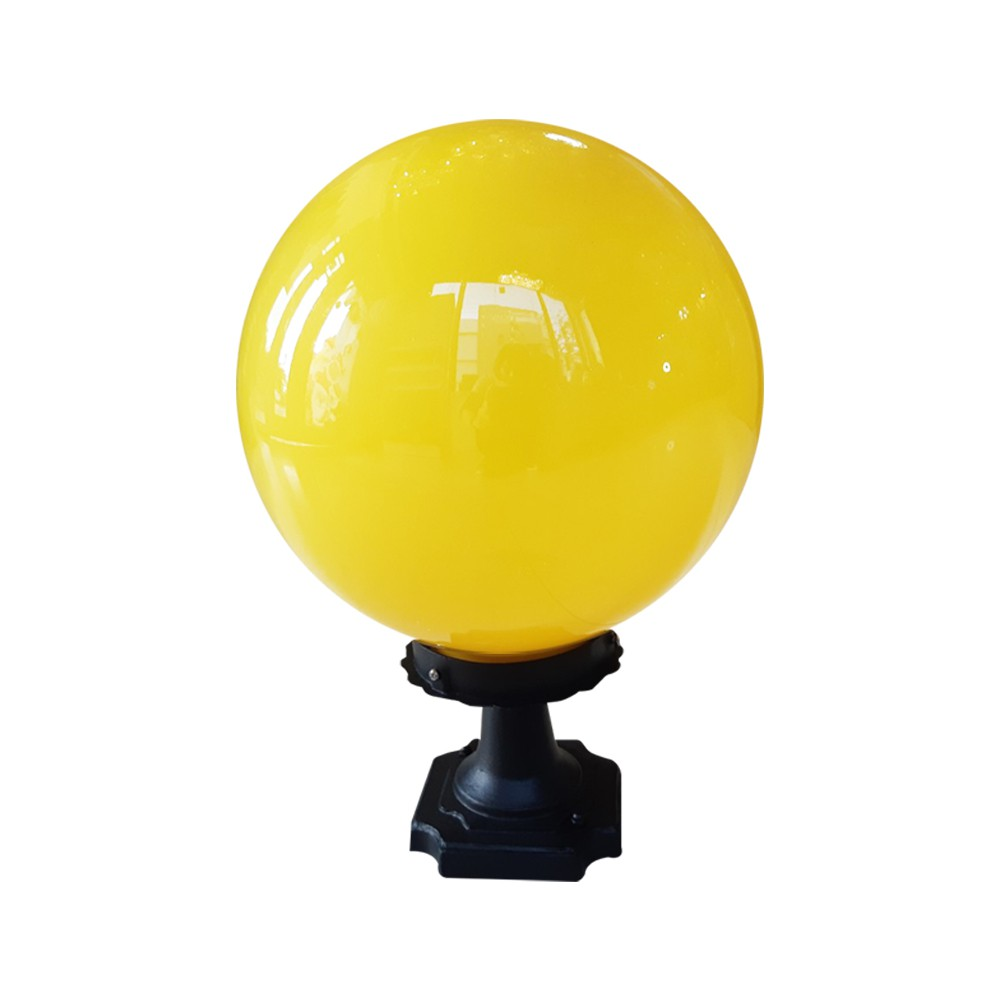 葫蘆墩燈飾 戶外柱頭燈 PE球柱頭燈 8吋 10吋(贈10W LED燈泡)
