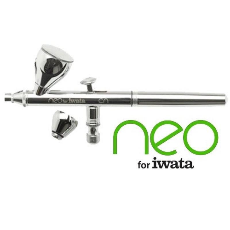 「公司貨」日本岩田  iwata Neo CN 0.35 双動式噴筆