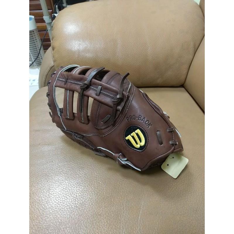 日製小牛皮Wilson A2000球員版反手一壘手套 棒球/壘球 左撇子 左投 a2k 支給品