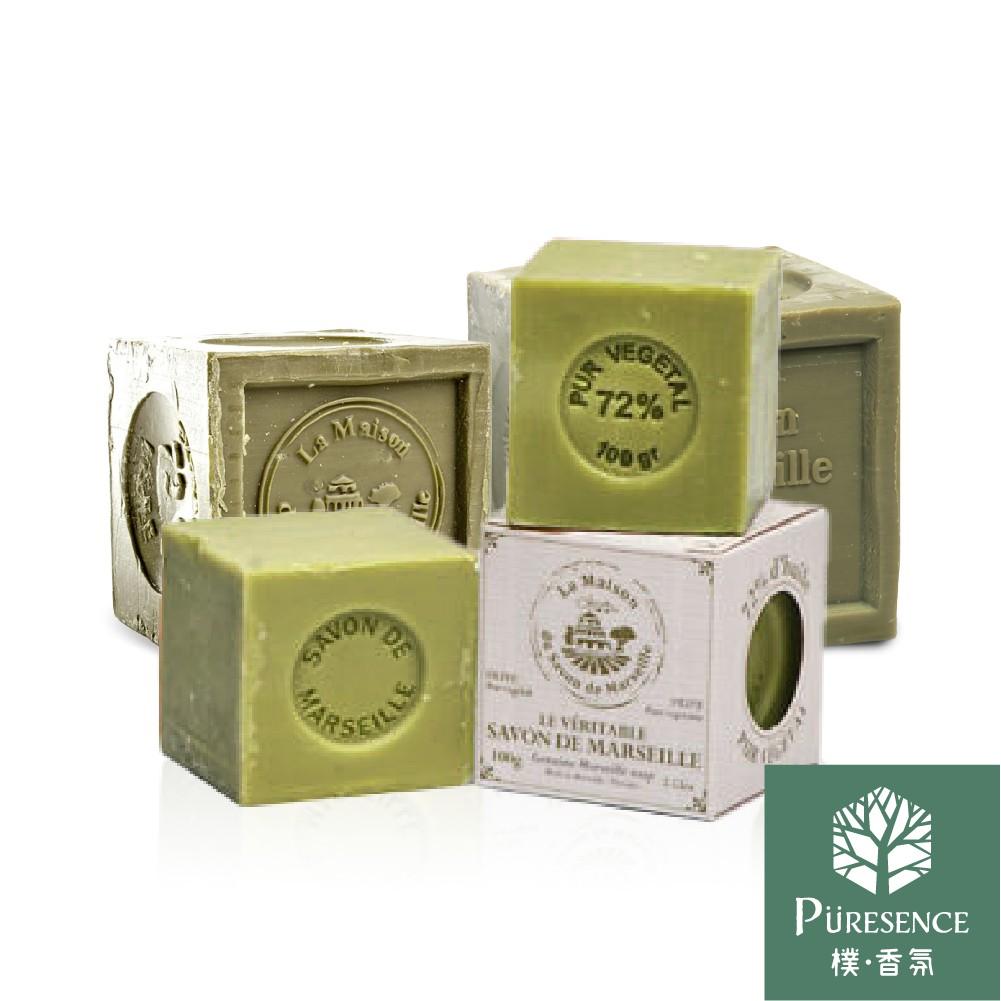 法國馬賽皂之家 正統經典馬賽皂72%橄欖油100g/300g/600g