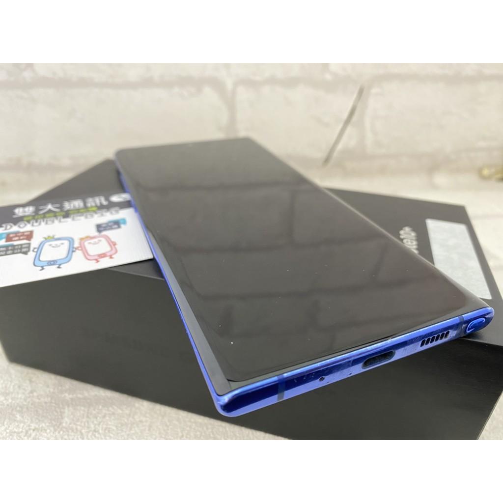 *高雄雙大通訊*SAMSUNG Galaxy Note 10+ 12+256 藍 6.8【二手盒裝9成新】(32270)
