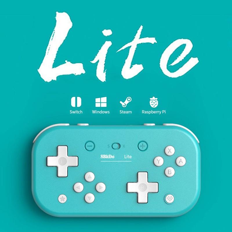 八位堂8Bitdo Nintendo Switch Lite 迷你便攜式藍芽手把-藍色