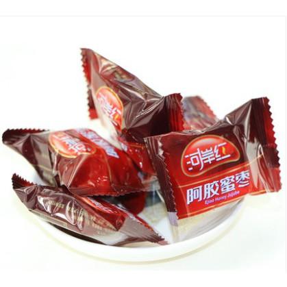 <<新鮮現貨供應>>促銷 健源食品 河岸紅阿膠蜜棗 原味 黑糖 阿膠蜜棗 大包裝1000g 最夯零食