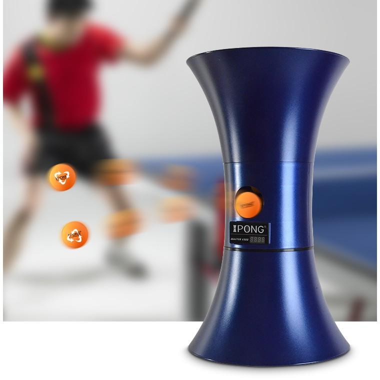 [免運費 加送100顆球]最新款 iPong V300桌球發球機|乒乓發球機 乒乓球發球機
