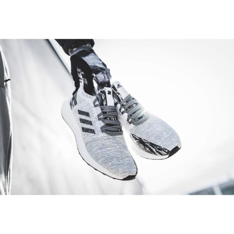 【全新潮流】adidas x UNDFTD PureBOOST GO 灰色 灰白 聯名 限量 BC0474 慢跑鞋