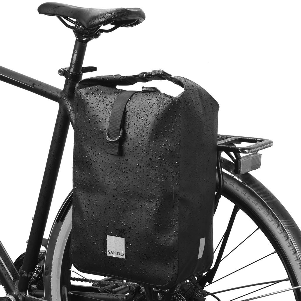 SAHOO鯊虎自行車包 10L單車防水馱包 單側貨架包