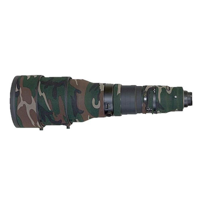 LensCoat 綠色迷彩 Nikon AF-S 600mm f/4 G ED VR 專用鏡頭炮衣 公司貨【鴻昌】