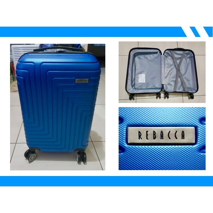100%新20吋行李箱💼REBACCA行李箱/登機箱-綻星藍