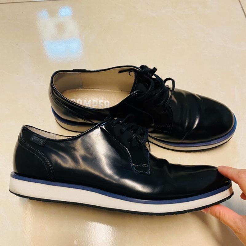 Camper 專櫃男鞋 漆皮亮面休閒皮鞋
