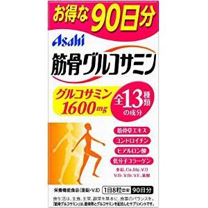有發票 【ASAHI 朝日】日本原裝正品 Asahi 朝日 軟骨素+葡萄糖胺+鈣