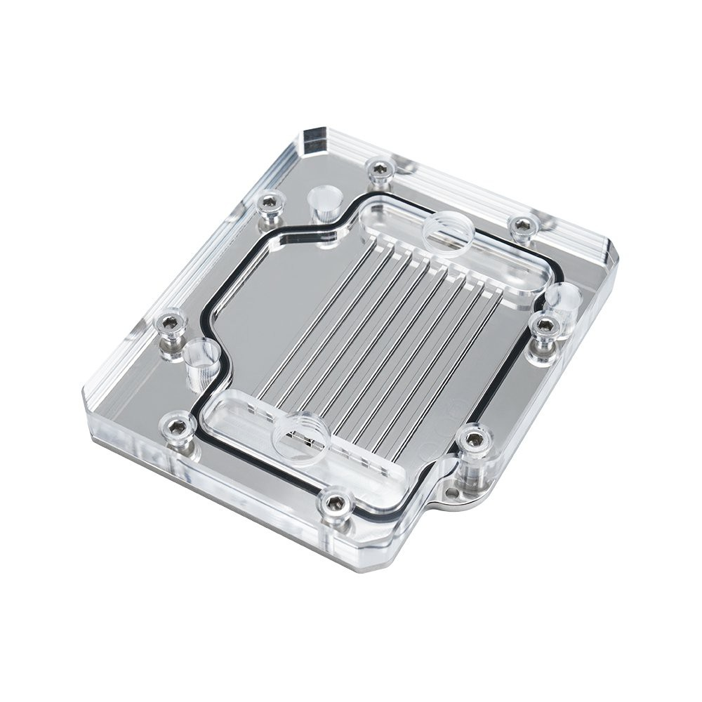 NVIDIA RTX3090 背面冷頭 顯卡顯存背板散熱器  軟硬管分體式水冷