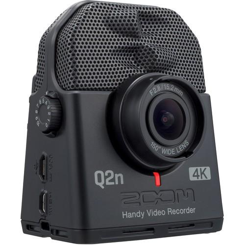 【ZOOM】Q2N-4K 廣角4K 隨身直播攝影機 (公司貨)