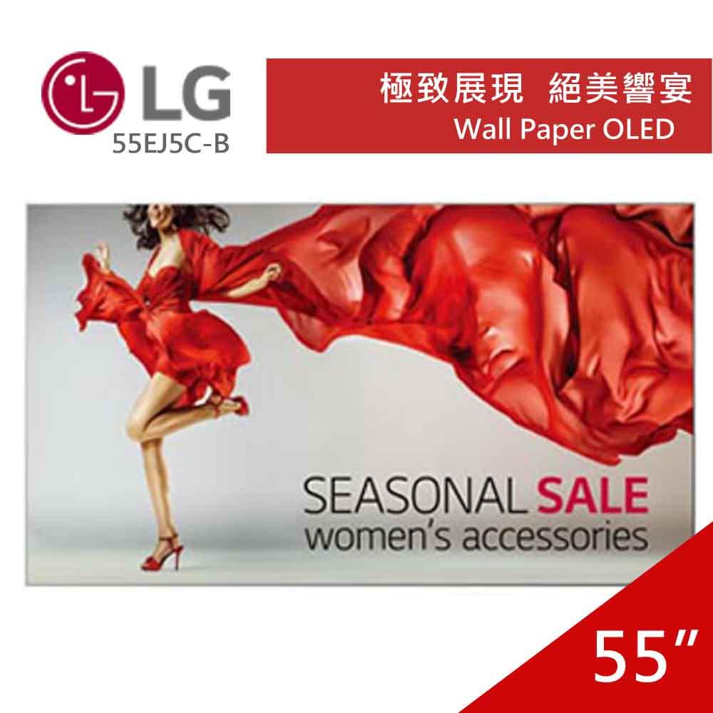 LG 樂金55型OLED Wall Paper 55EJ5C-B