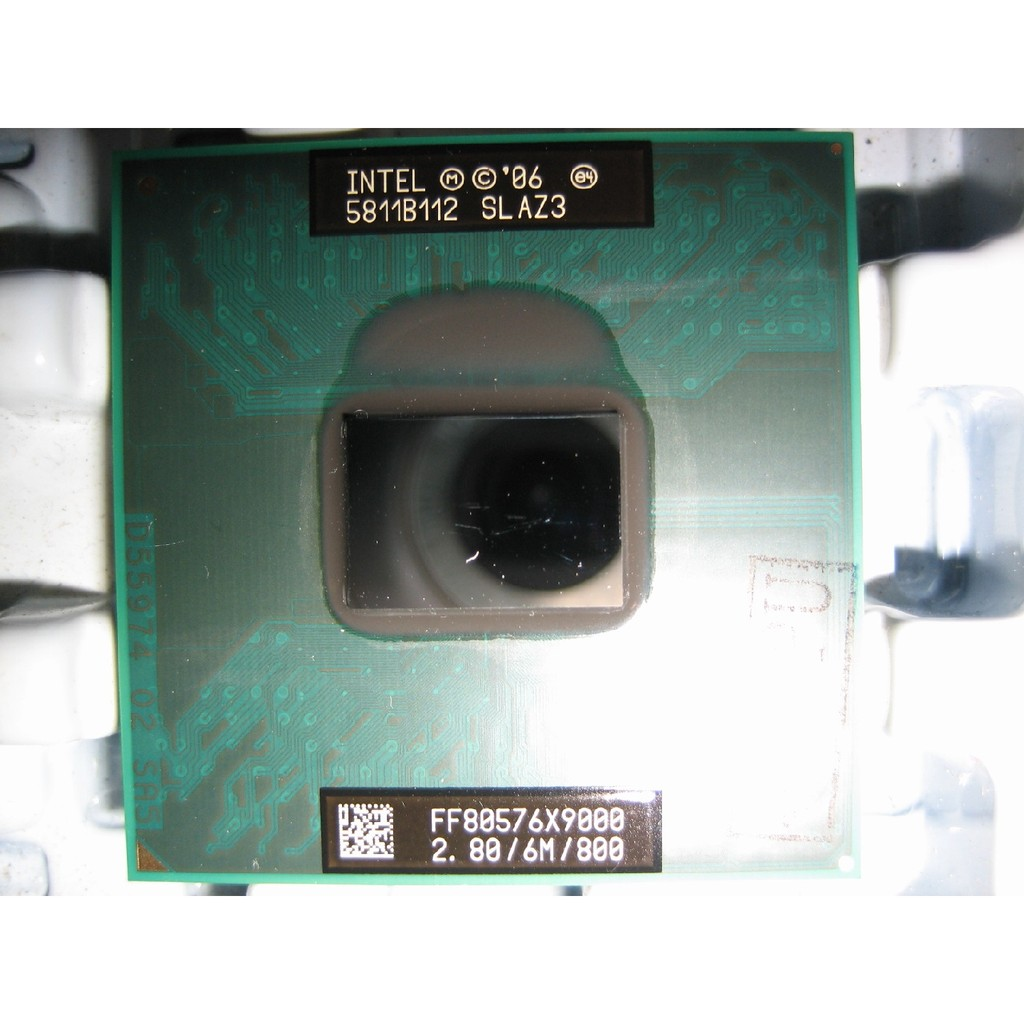 (內有1年保)正式版Intel X9000 2.8G/6m 筆電965晶片 T9500 T9300 參考