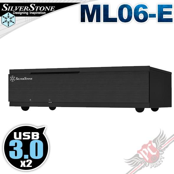 銀欣 SilverStone ML06-E USB3.0 HTPC 電腦機殼 PCPARTY