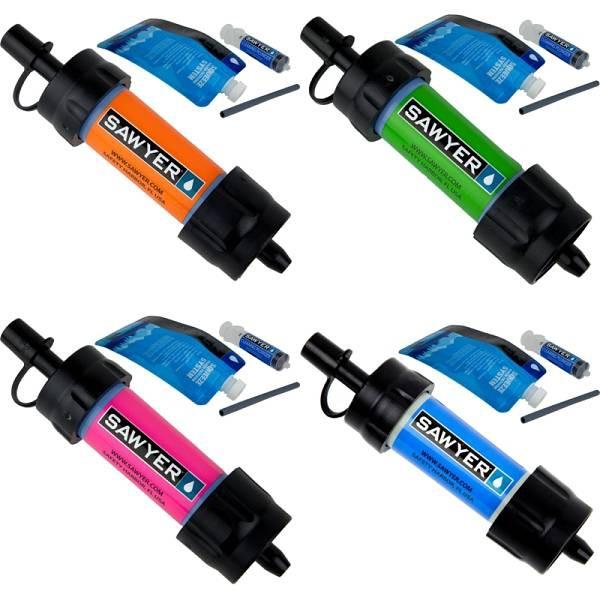 【山道具屋】Sawyer MINI Water Filter (SP128) 超輕量隨身濾水器(單支)