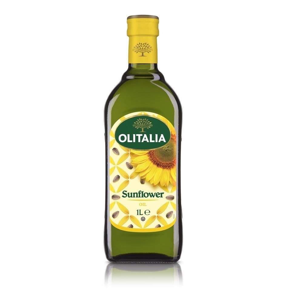 奧利塔義大利頂級葵花油1L【佳瑪】