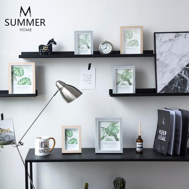 北歐相框擺臺6寸7寸8寸照片現代簡約綠植裝飾掛墻擺件畫框現貨居家餐盤廚房花瓶【元氣滿滿補給店】