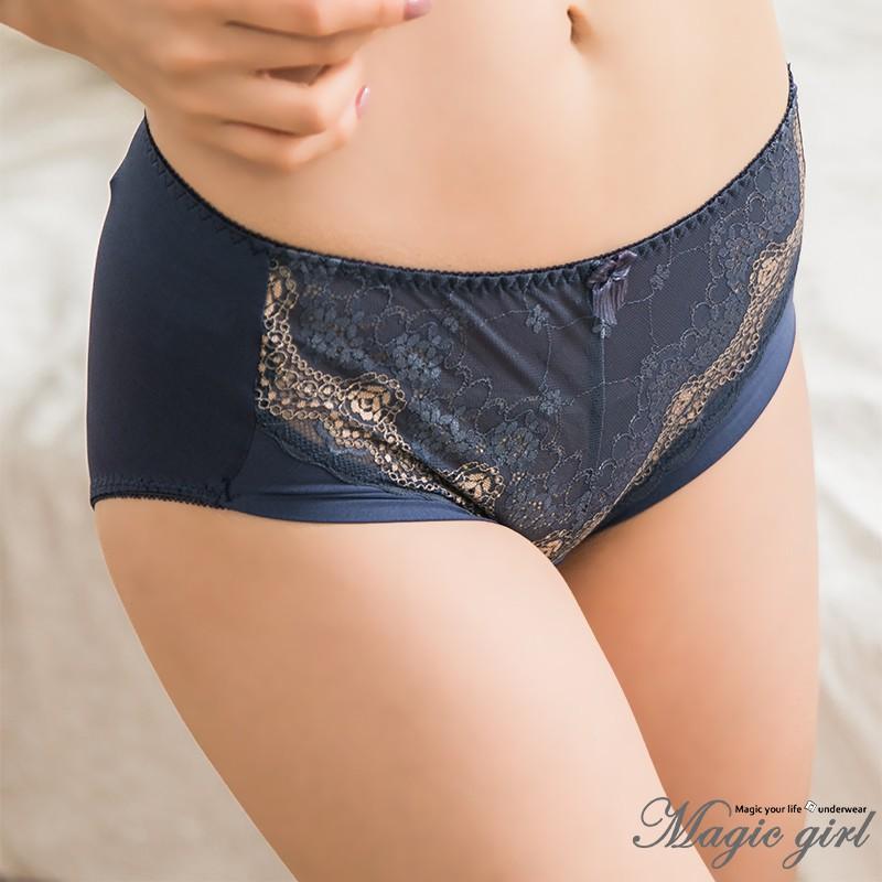 Magic girl美衣魔櫥 心醉羅伊斯 單件配褲【M L】台灣製 4色 灰藍 膚色 紫色 黑色