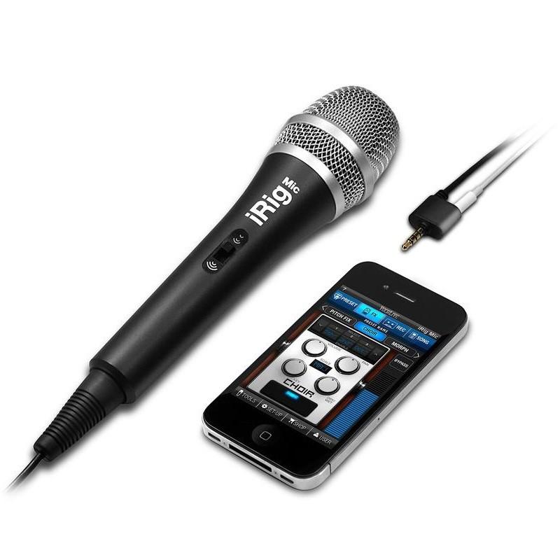 IK Multimedia iRig Mic 麥克風 適用各種手機 可接耳機 總代理公司貨