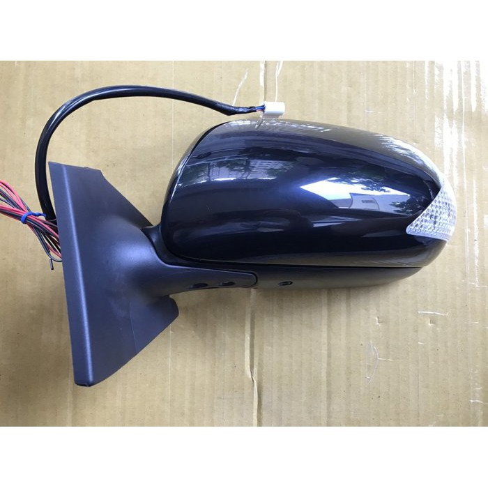 TOYOTA 豐田 YARIS 年份06-09 電動摺疊 + 方向燈 照後鏡 後照鏡 後視鏡 7線