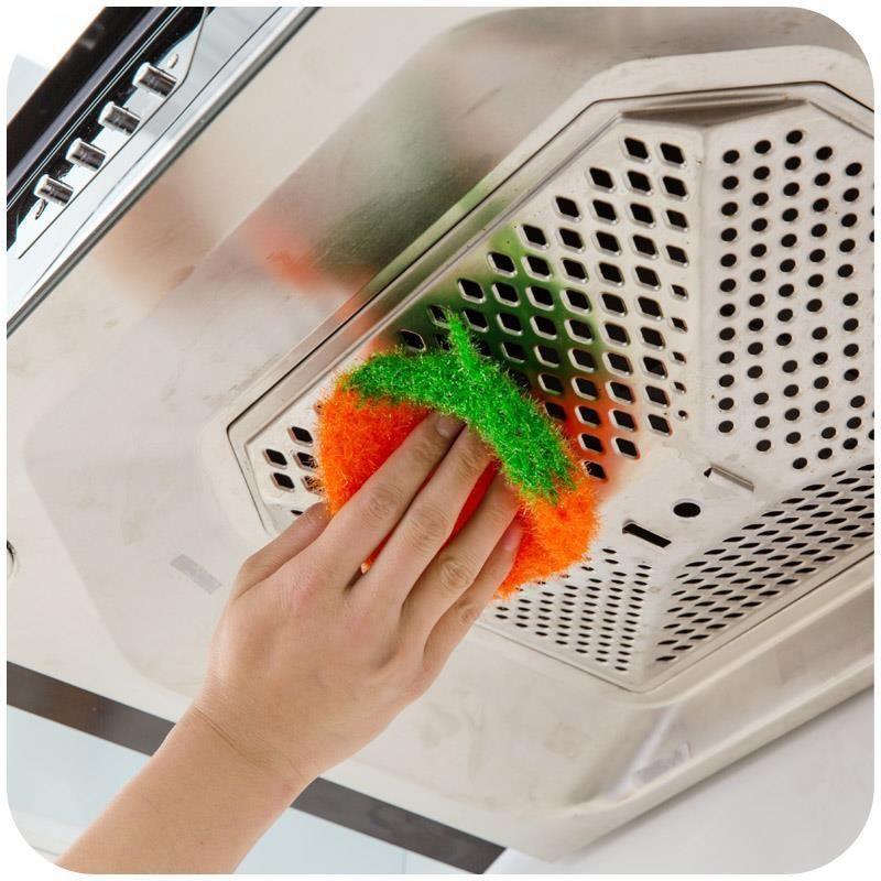 (韓國洗碗巾)(潔布)韓國新品純手工勾織清潔布不粘油不鉤絲光吸水強草莓洗碗巾百潔布
