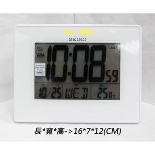 KKn C38_070500 SEIKO QHL057 電子多功能 鬧鐘