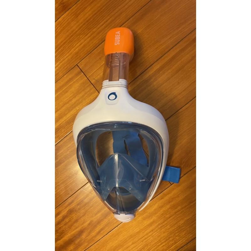 迪卡儂浮潛面罩三寶潛水鏡裝備