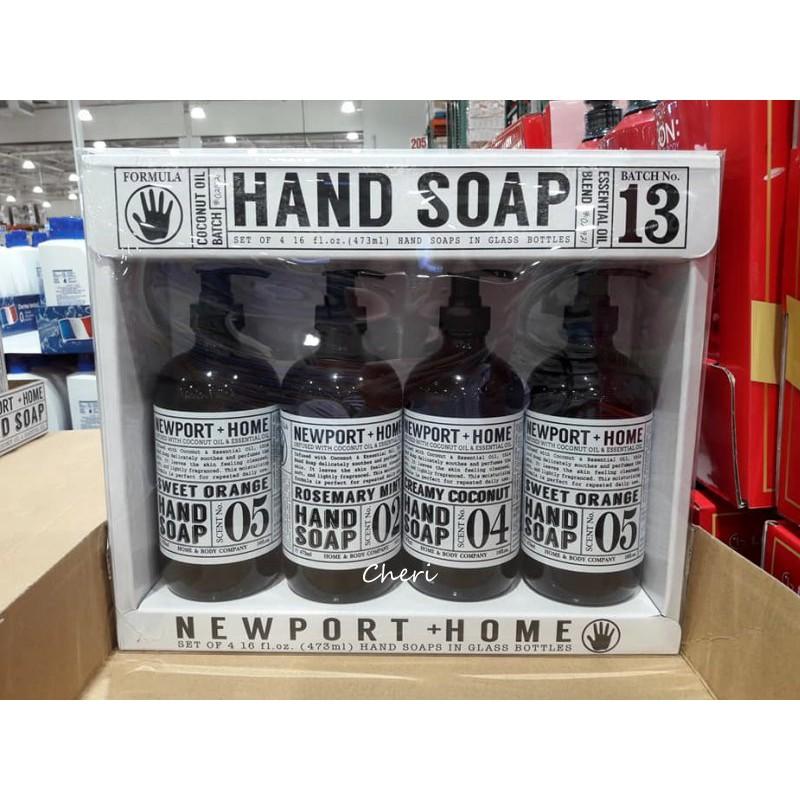 *BLANC_COSTCO 好市多 美國 Newport Home 洗手液 473ml*4入/組 洗手乳