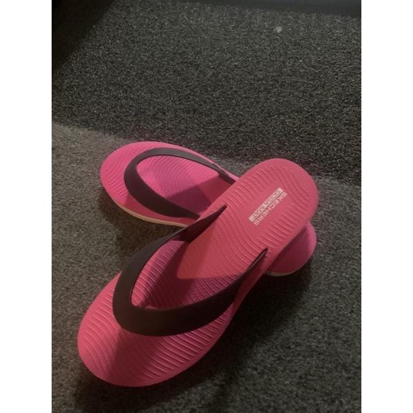 Skechers女夾腳拖鞋