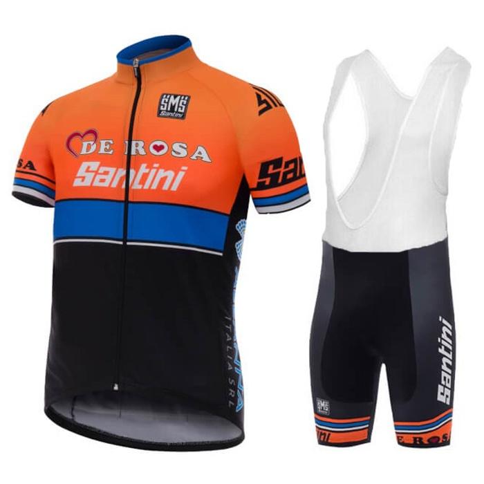 De Rosa Santini 自行車球衣騎行短褲短袖騎行套裝
