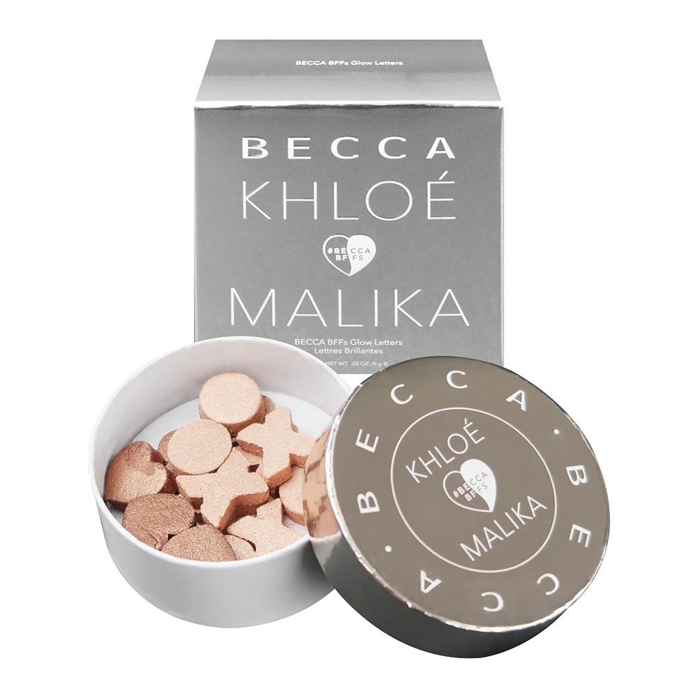 【Becca】xo打亮字母 BECCA x Khloe Kardashian & Malika Haqq BFFs