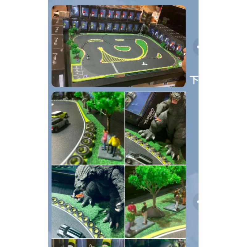 「台南RC專賣店」TURBO RACING 1/76 2.4G 槍控超迷你 MINI COOPER 1:76 遙控車