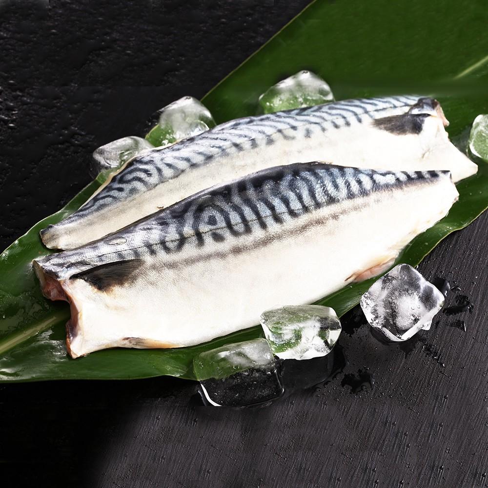 挪威薄鹽鯖魚210g,單片真空包裝【金龍生鮮肉品】