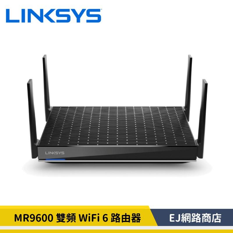 【公司貨】Linksys 雙頻 MR9600 Mesh WiFi 6 路由器 (AX6000)