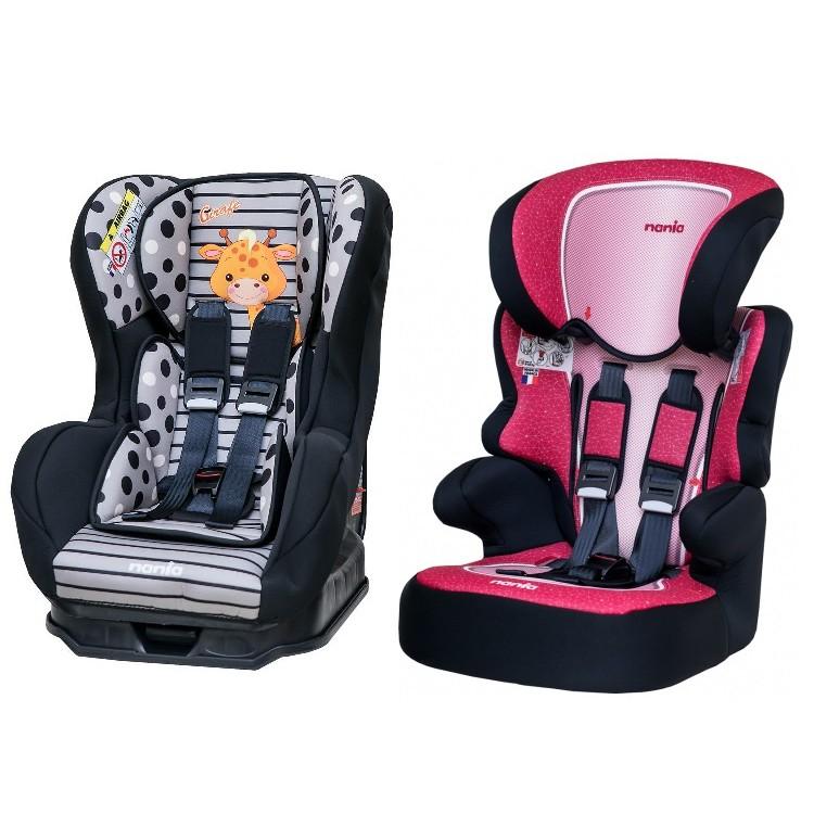 這是布套 - 納尼亞 0-4歲安全汽座 /成長型汽座 / 輔助墊 / 提籃 特定型號替換專用  Nania