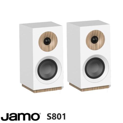 永悅音響 JAMO S801 書架型喇叭 (對) (白色) 全新釪環公司貨歡迎+聊聊詢問(免運)