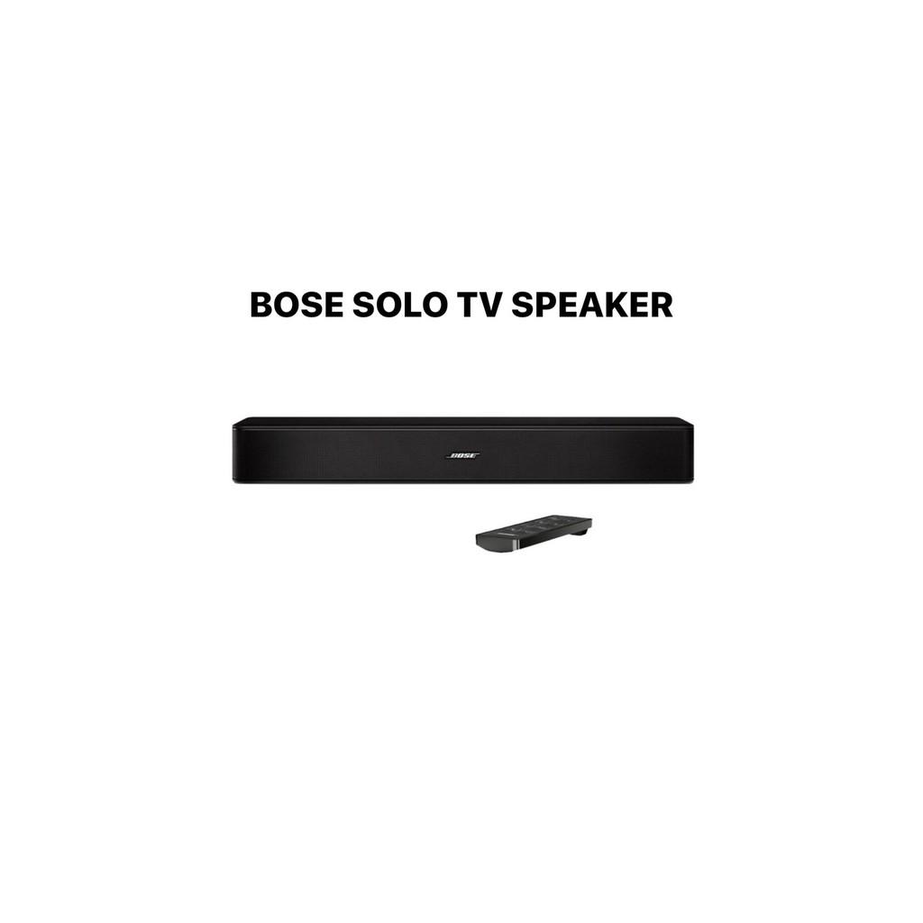 BOSE SOLO TV SPEAKER 單件式藍牙劇院組