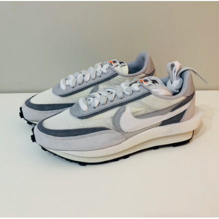 運動 潮流  全新正品  Sacai x Nike LDV Waffle 解構 灰白 BV0073-100