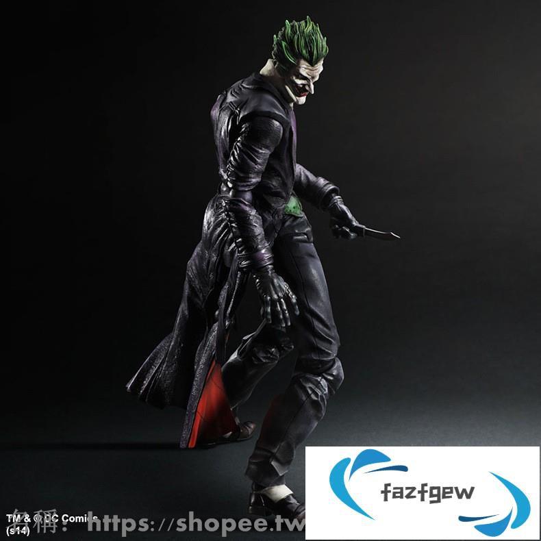【可動】卡漫周邊現貨公仔實拍直銷 Play arts PA改 小丑 Joker 蝙蝠俠 BATMAN 超級英雄 DC英雄